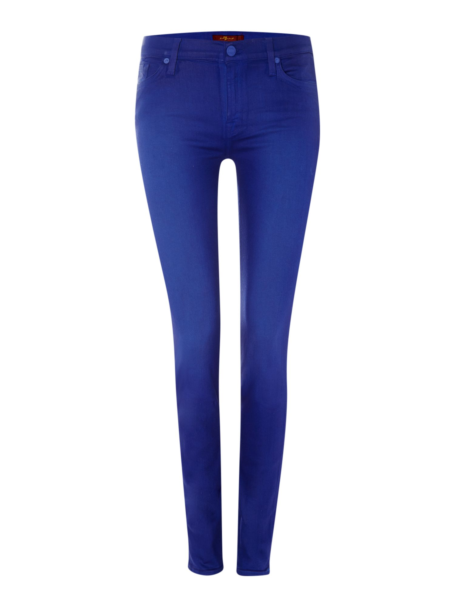The Skinny coated jeans in Royal Blue