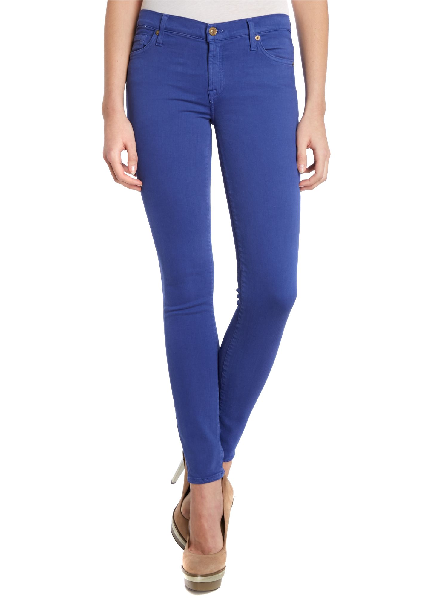 The Skinny jeans in Royal Blue