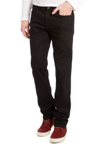 7 For All Mankind Jacksonville Slimmy Black Jeans
