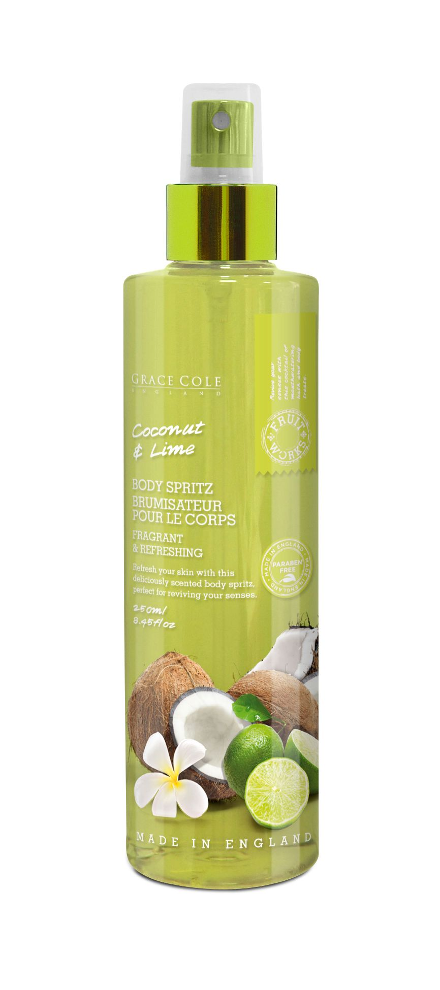 Coconut & Lime Body Spritz 250ml