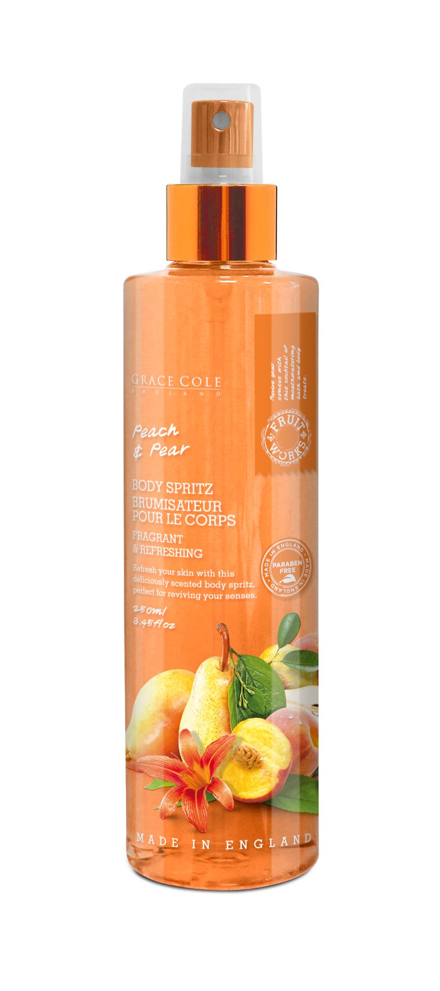 Peach & Pear Body Spritz 250ml