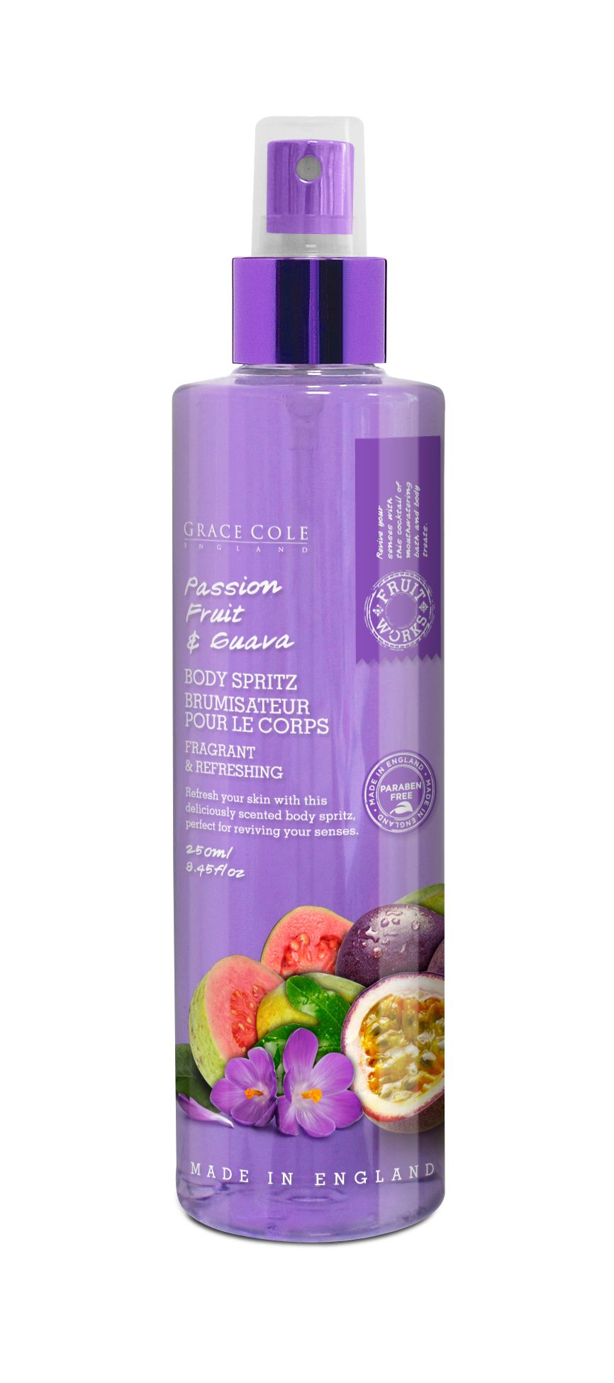 Passion Fruit & Guava Body Spritz 250ml