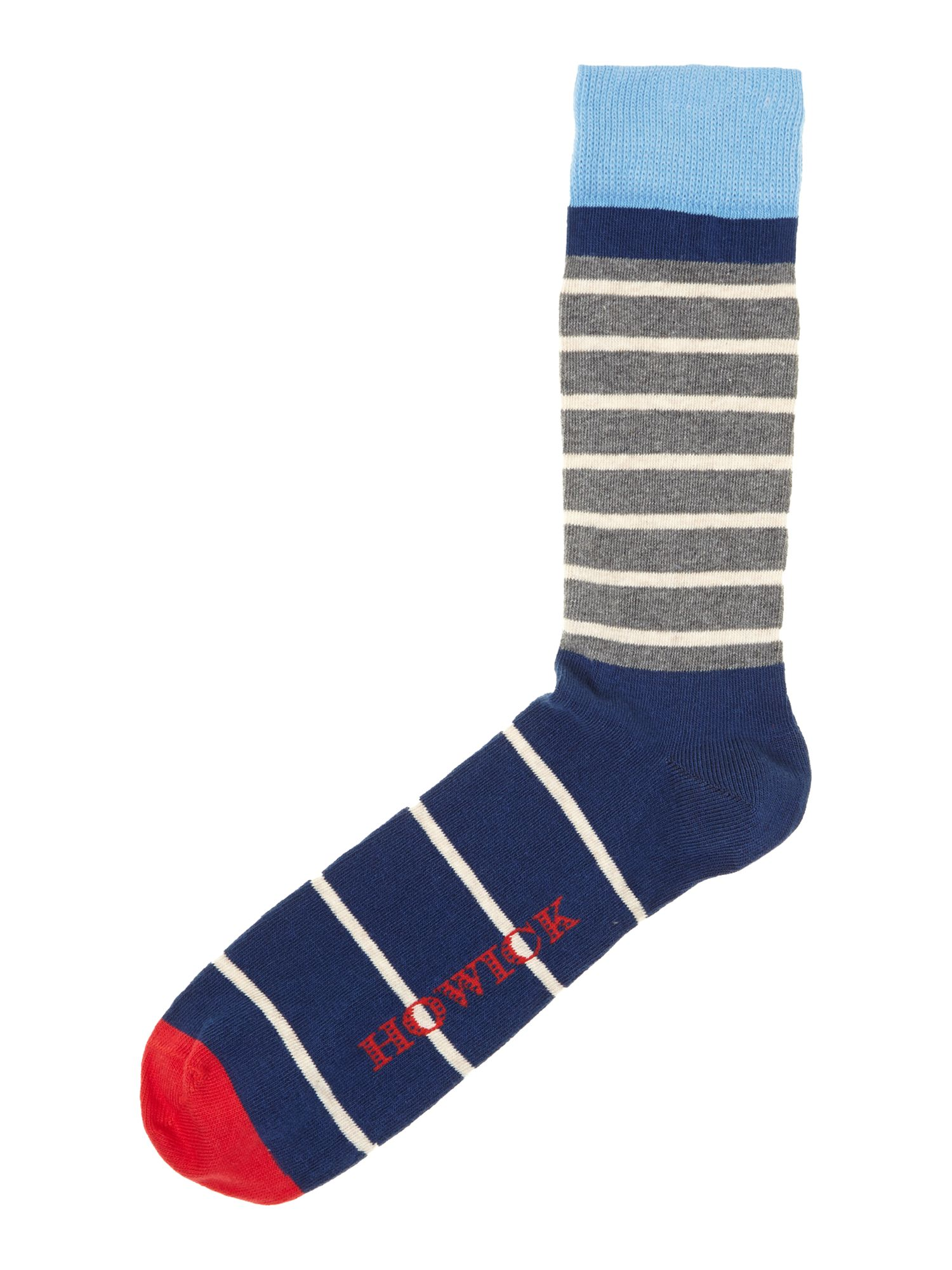 2 pack top stripe socks