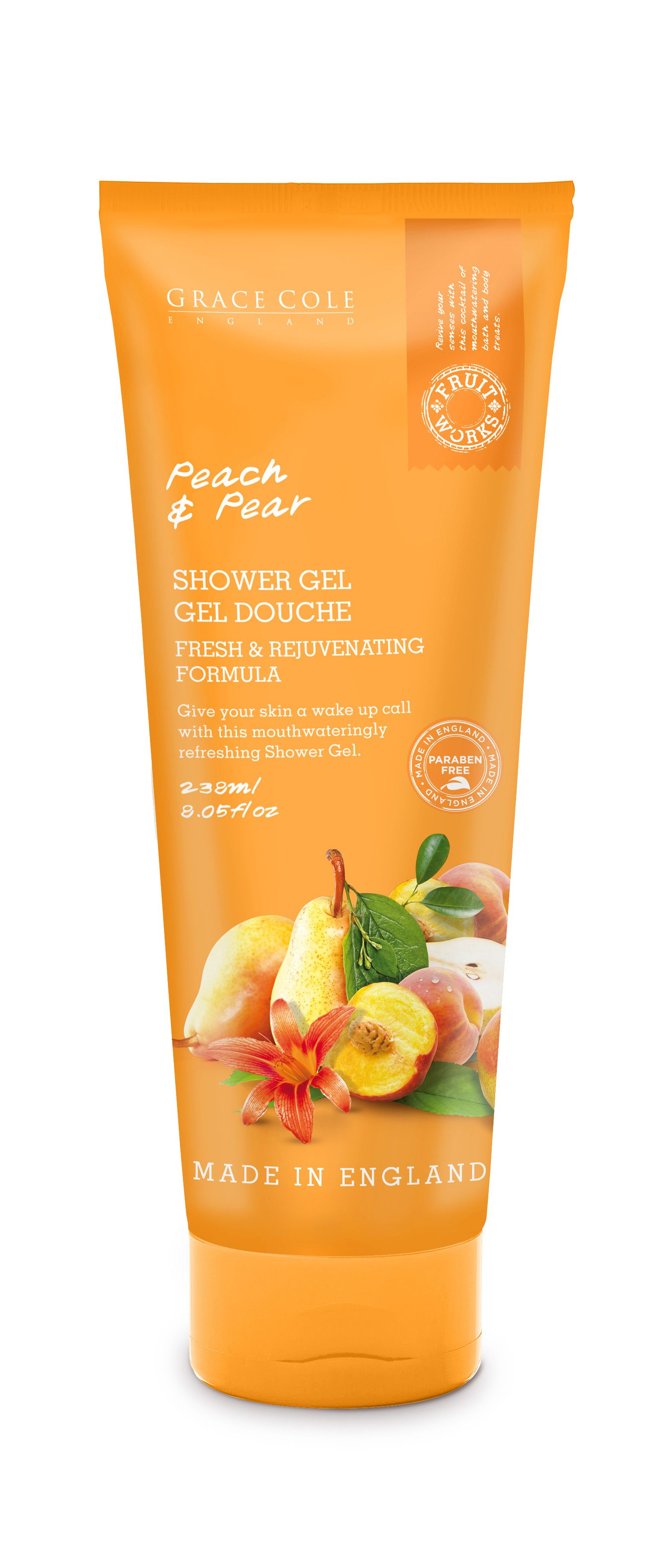Peach & Pear Shower Gel 238ml