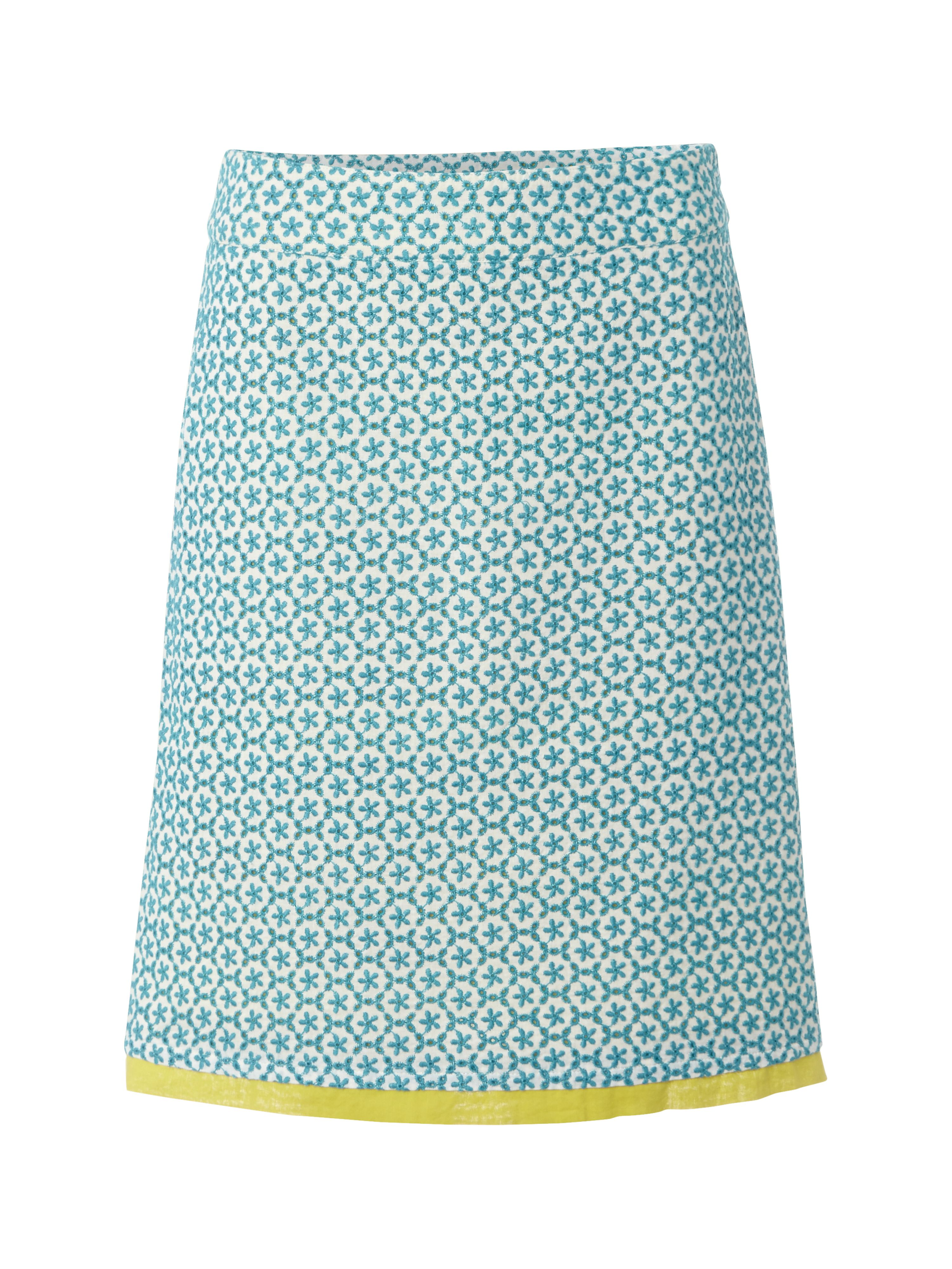 San pedro embroidered skirt