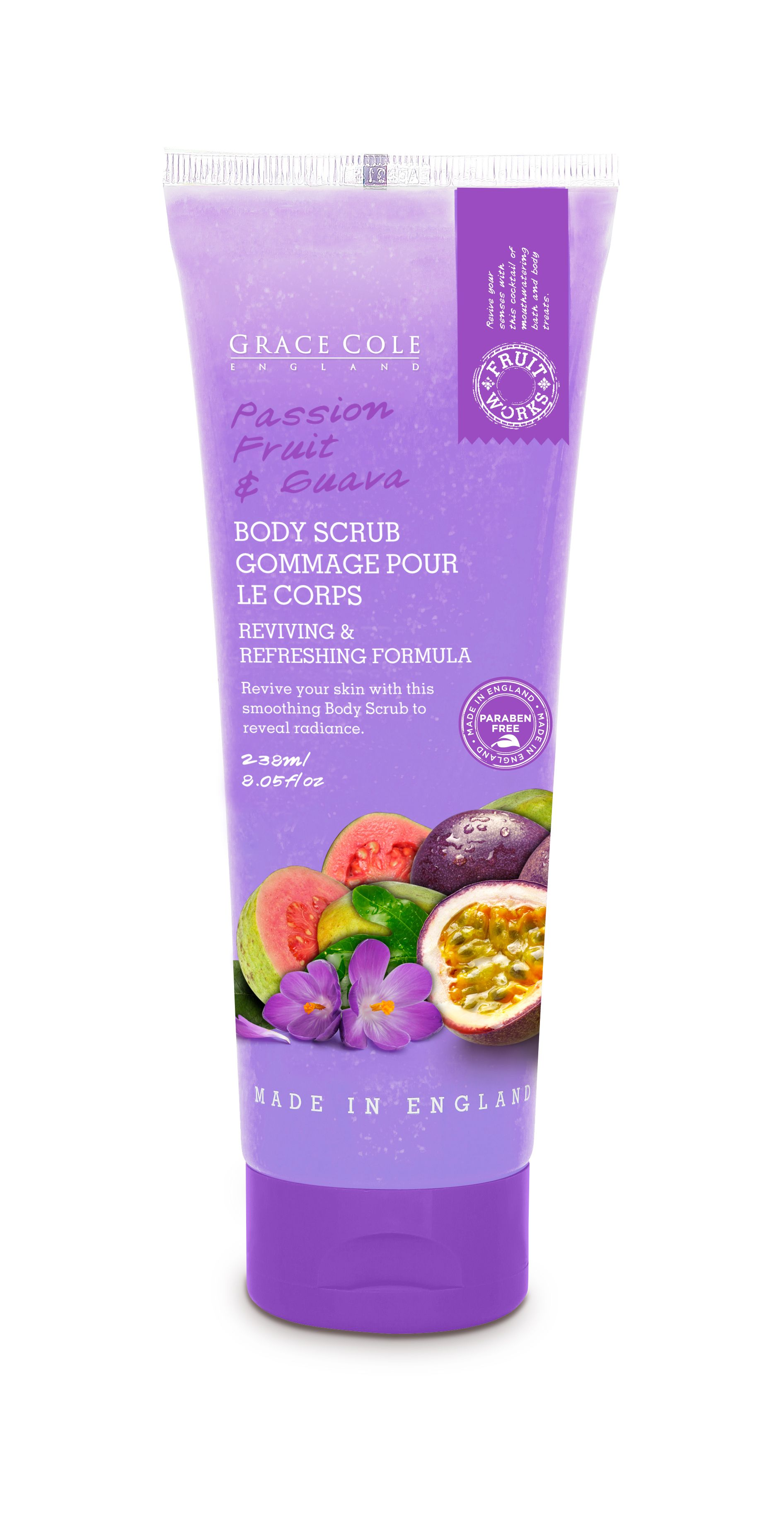 Passion Fruit & Guava Body Scrub 238ml