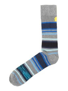 2 pack shadow stripe socks