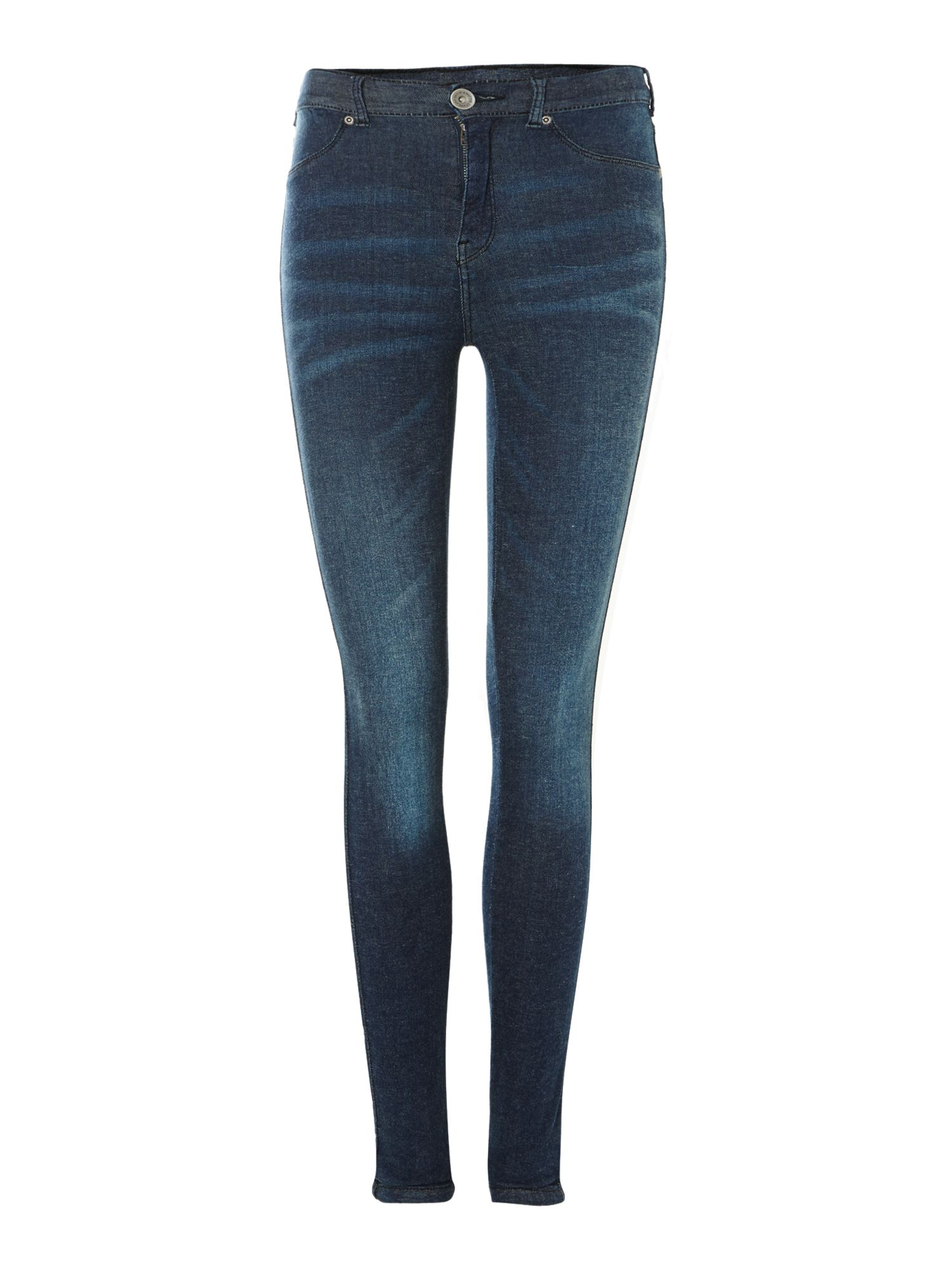 Plenty high-rise skinny jeans in Dark Wash