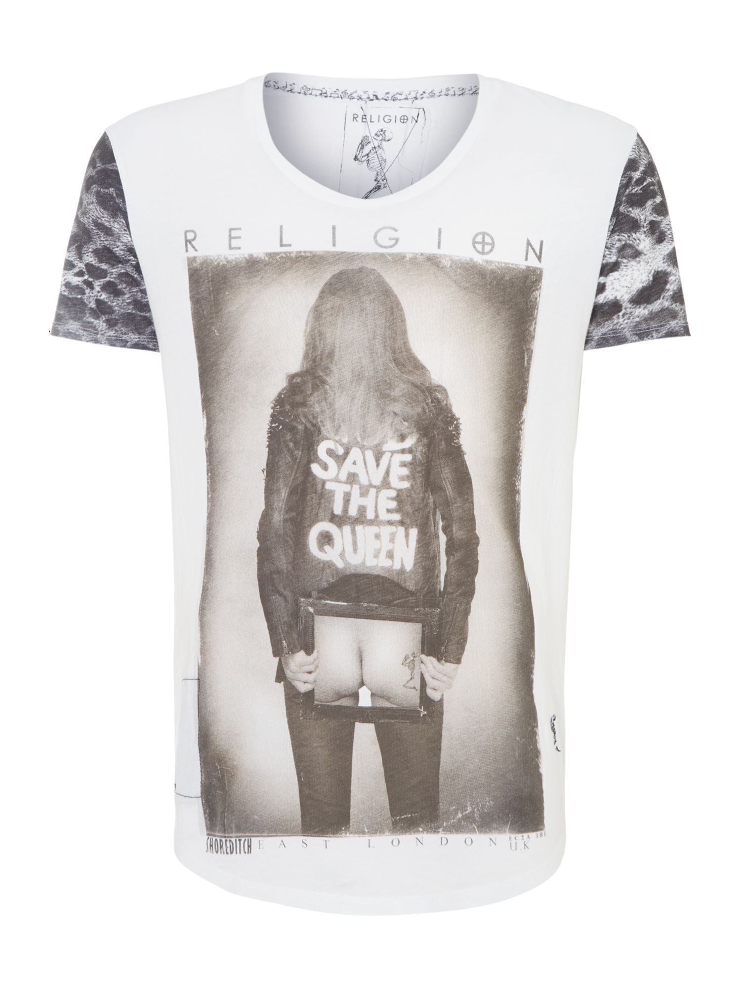 God save the queen t shirt