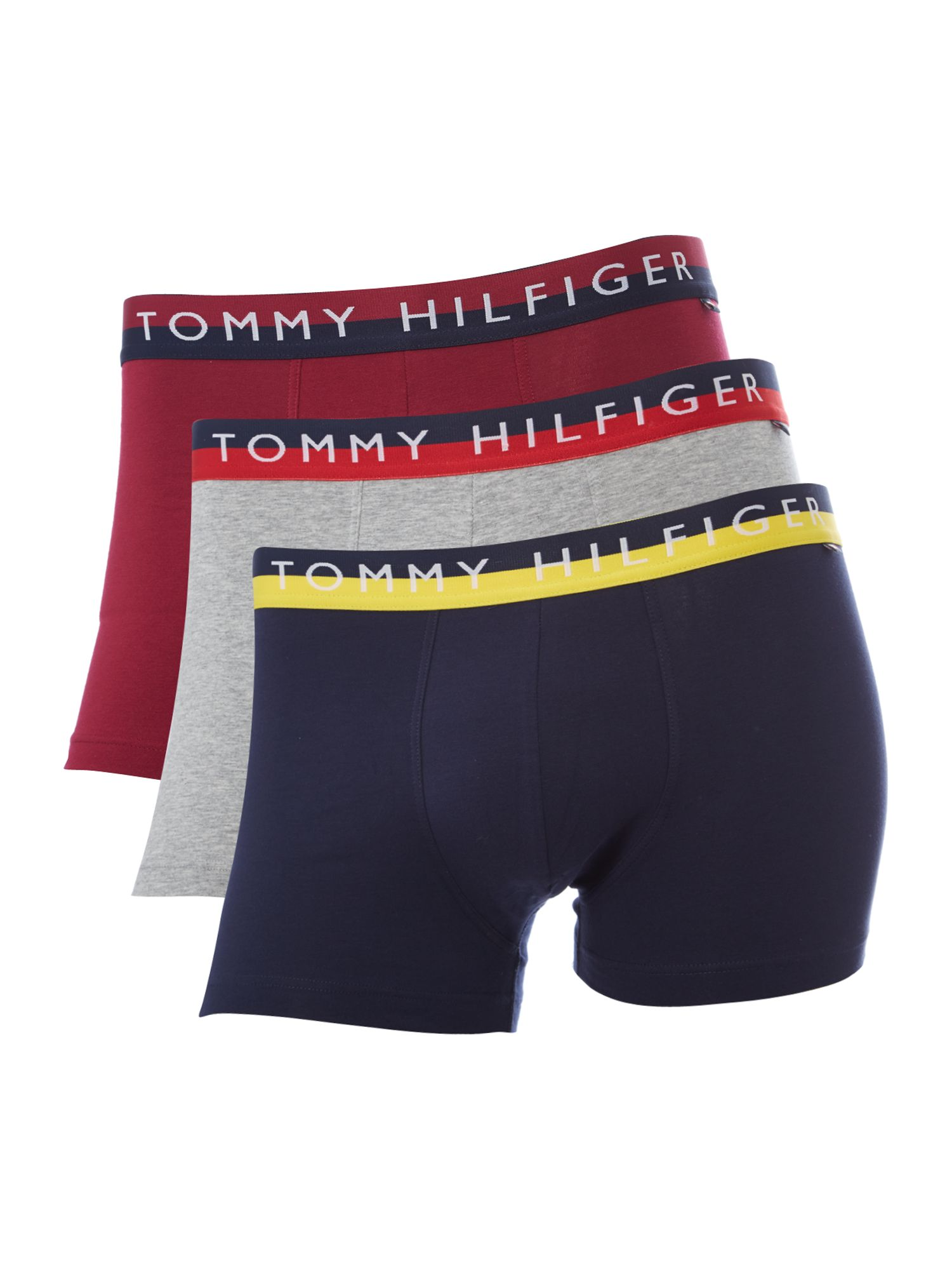 3 pack stripe underwear trunk