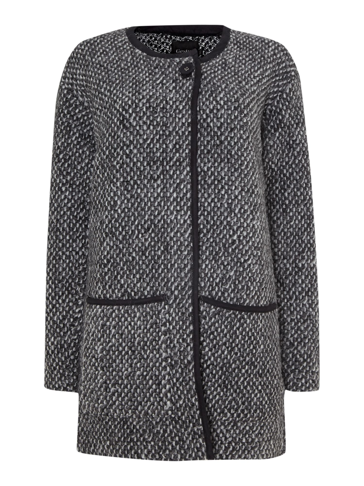 Wool cardigan jacket