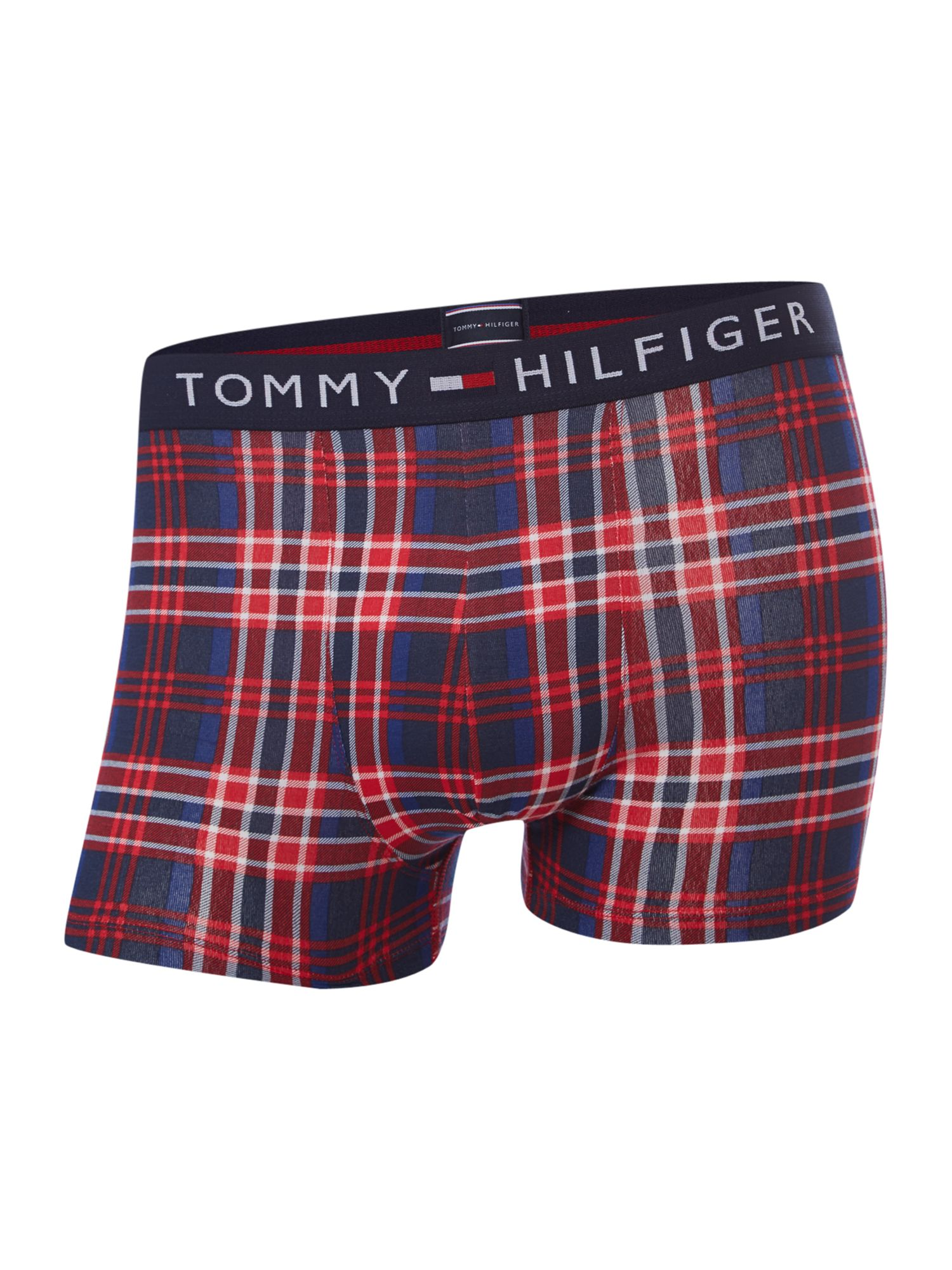 3 pack check stripe and plain underwear trunk