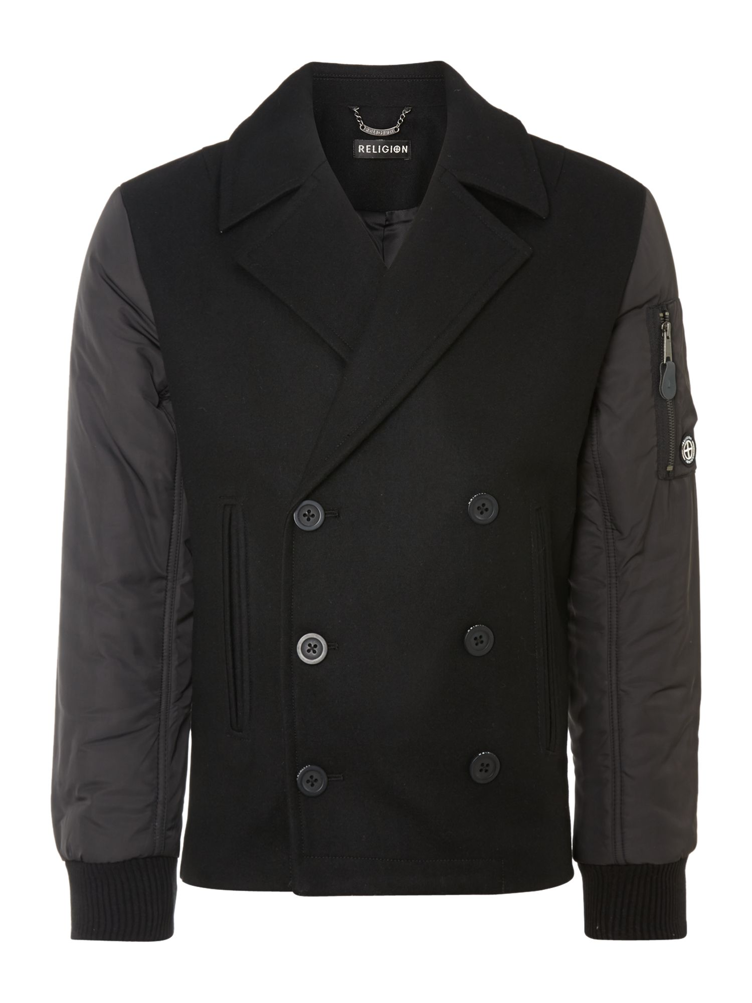 Two pocket panelled jacket