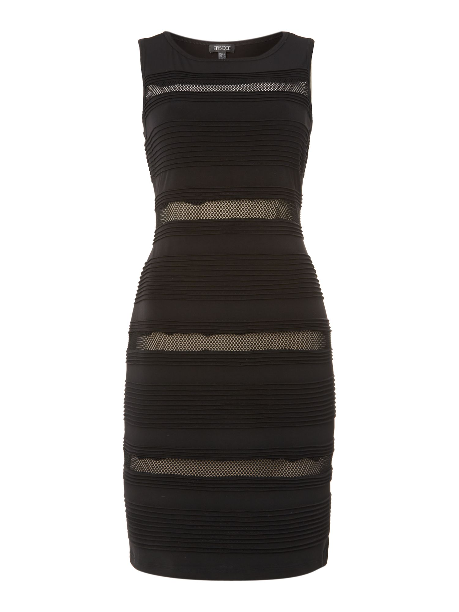 Banded shift dress
