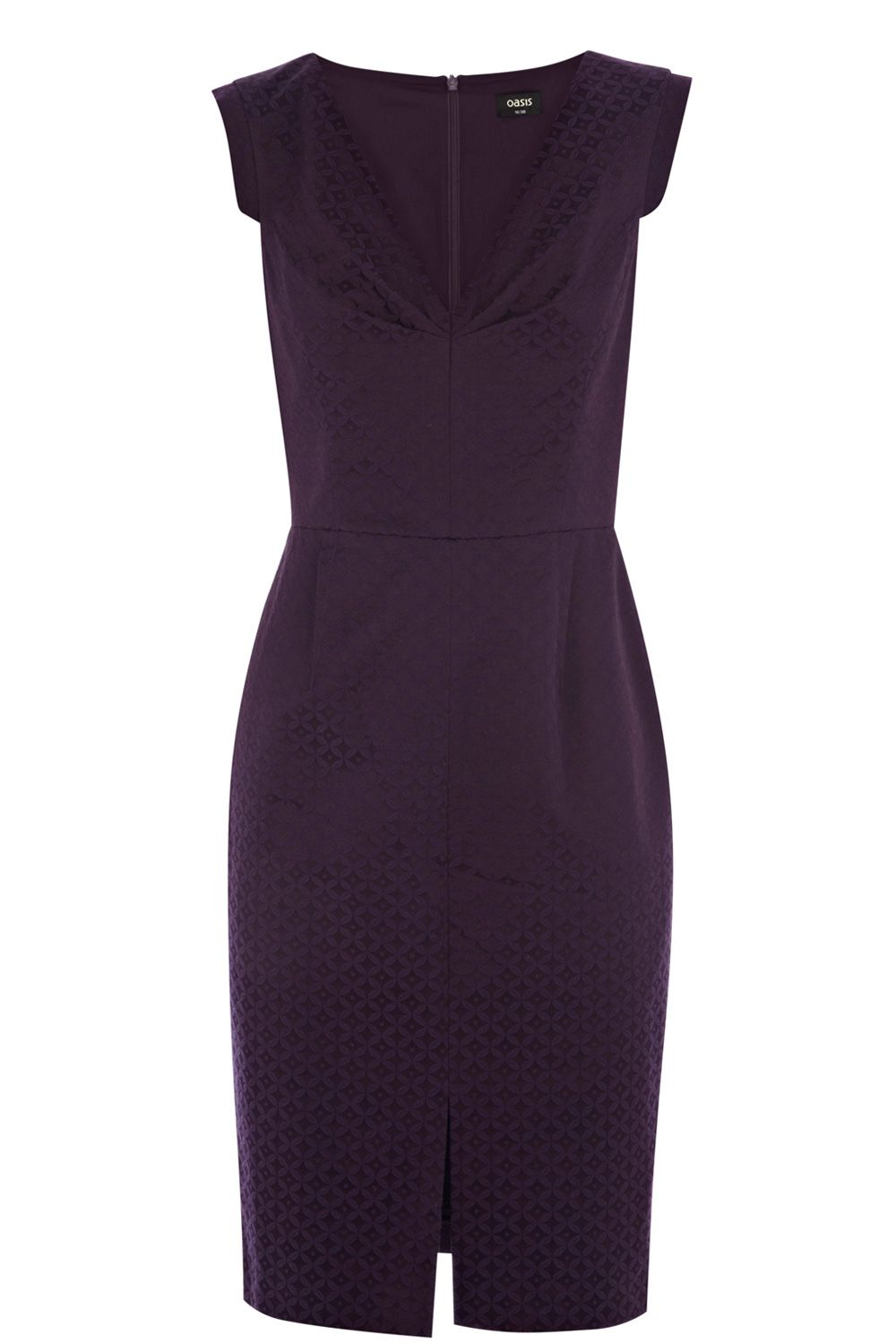 Rosa jacquard pencil dress