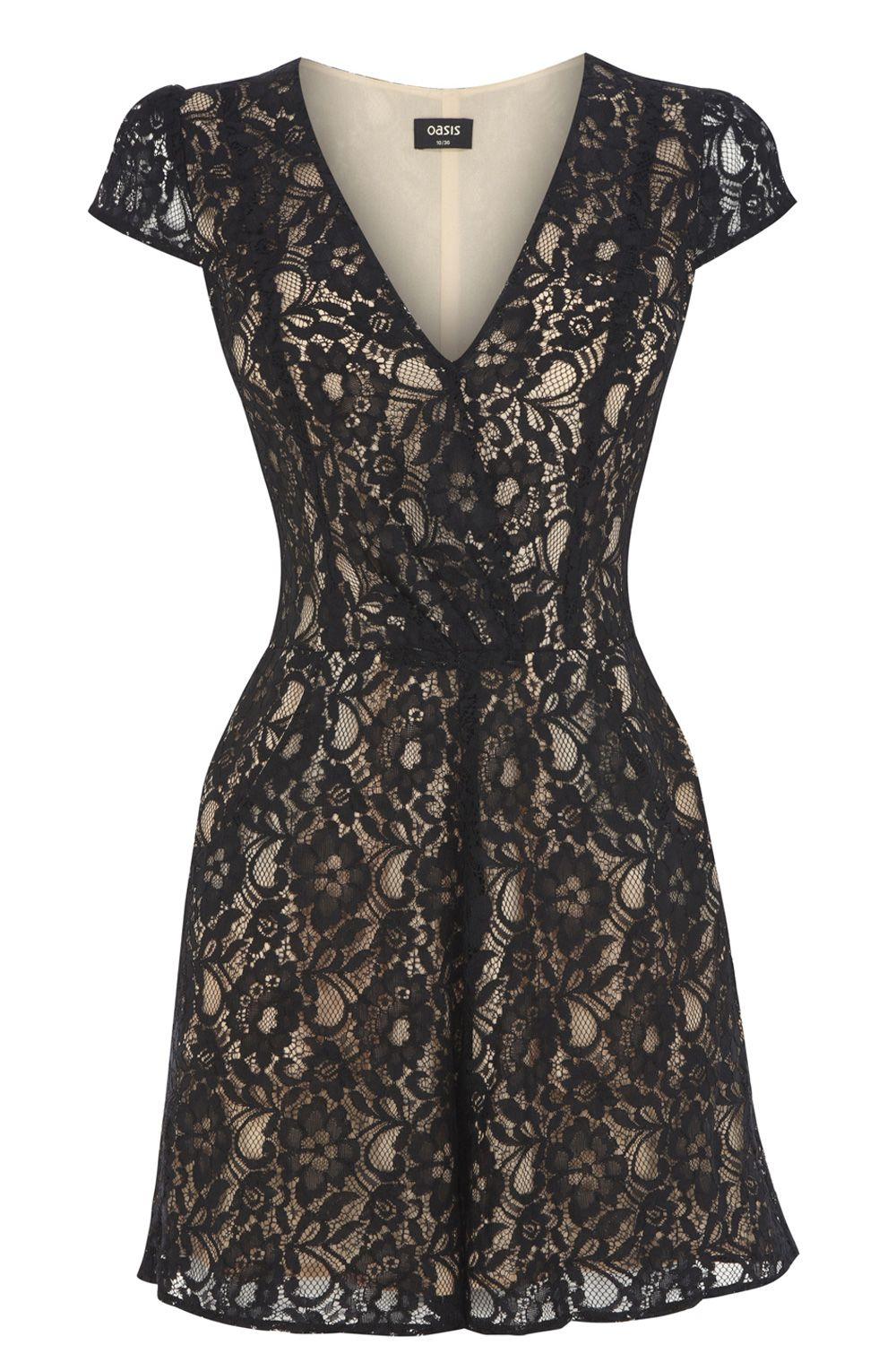 Wrap lace playsuit