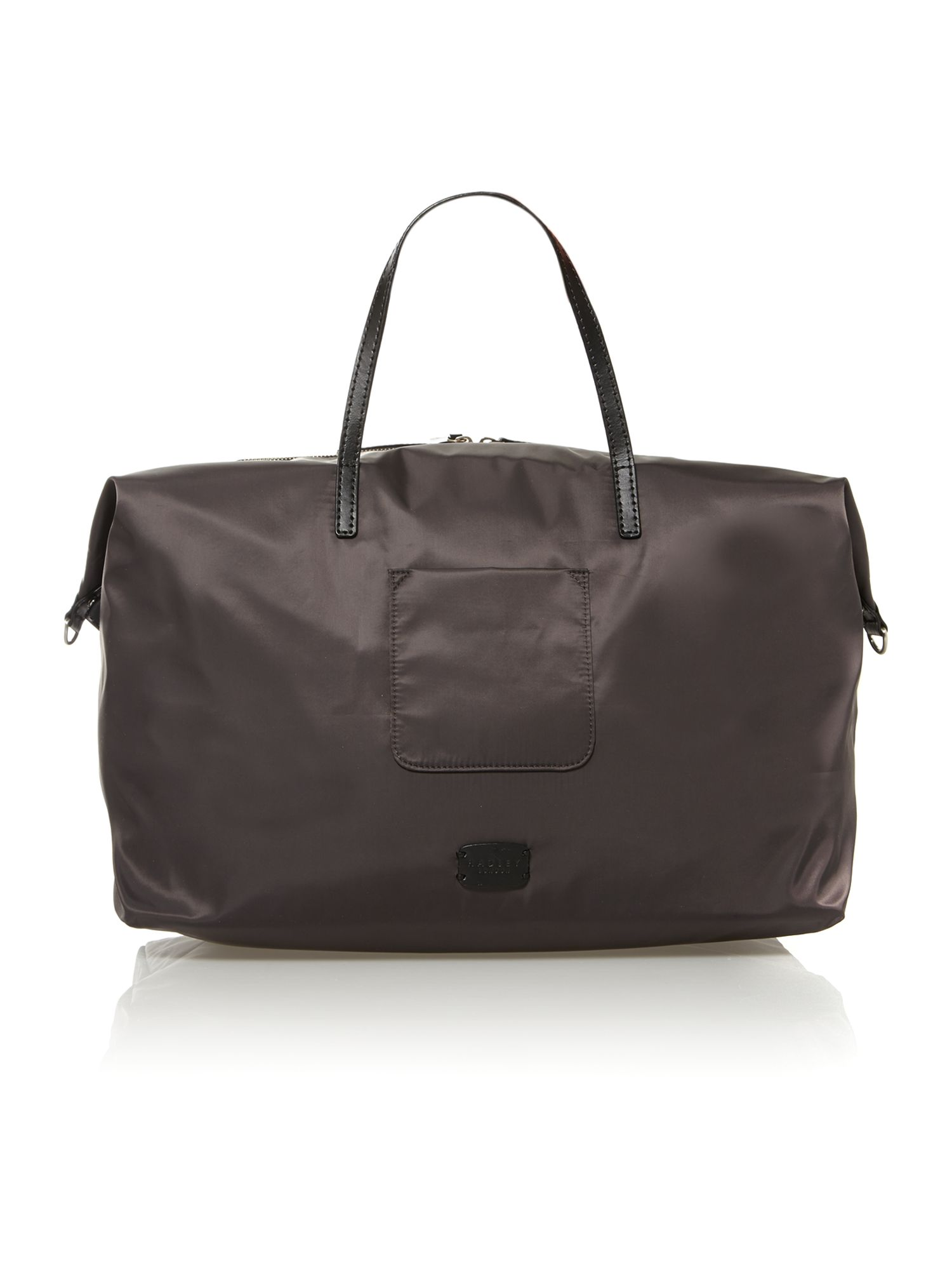 Grey large holdall multi strap bag