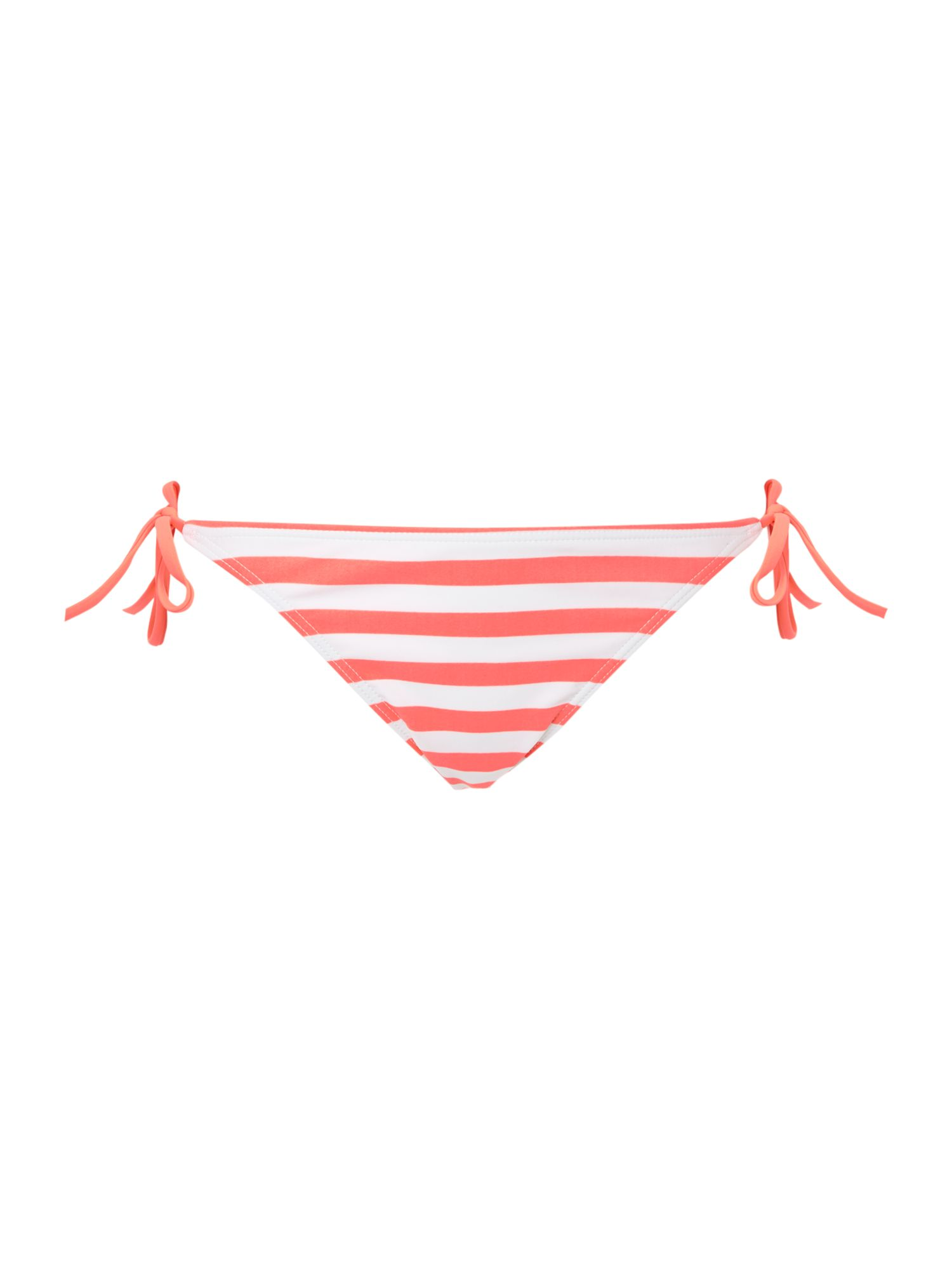 Neon loop tie side bikini pant