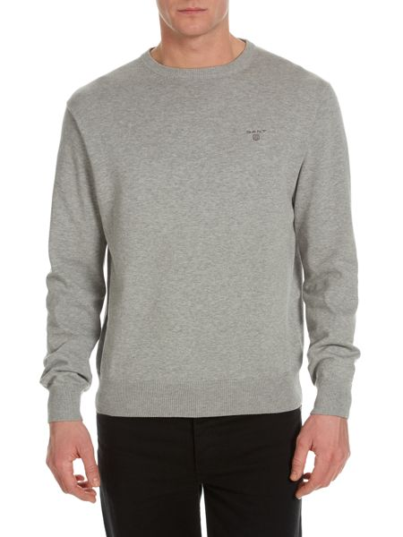 Gant Lightweight Cotton Crew-Neck Jumper