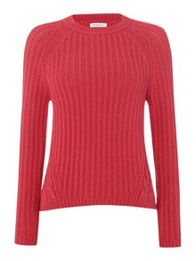 Marella Carmine long sleeved cable knit jumper