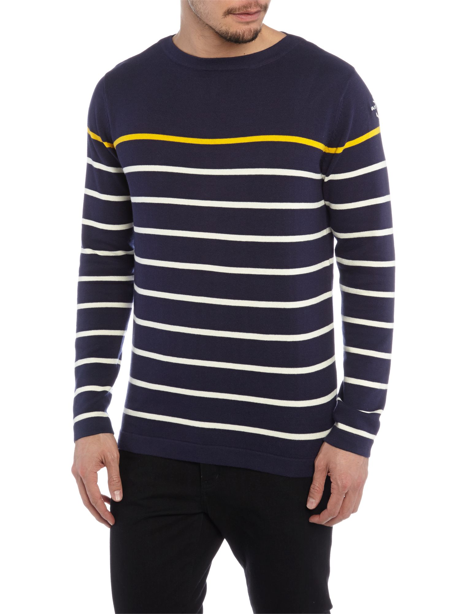 Cotton sritpe jumper