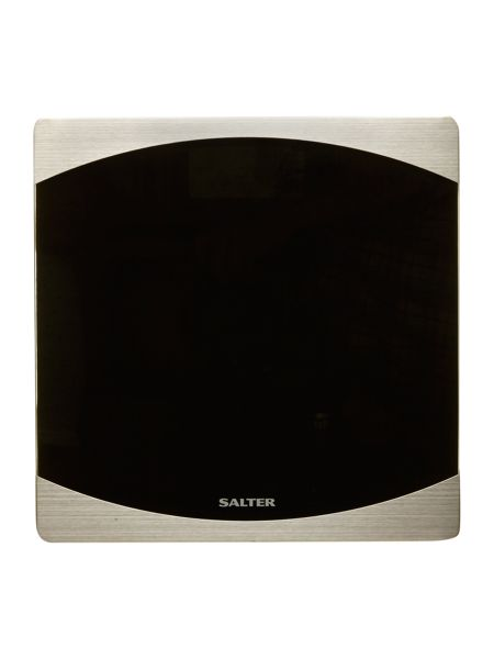 Salter Ultra slim glass electronic scales 9079 in black