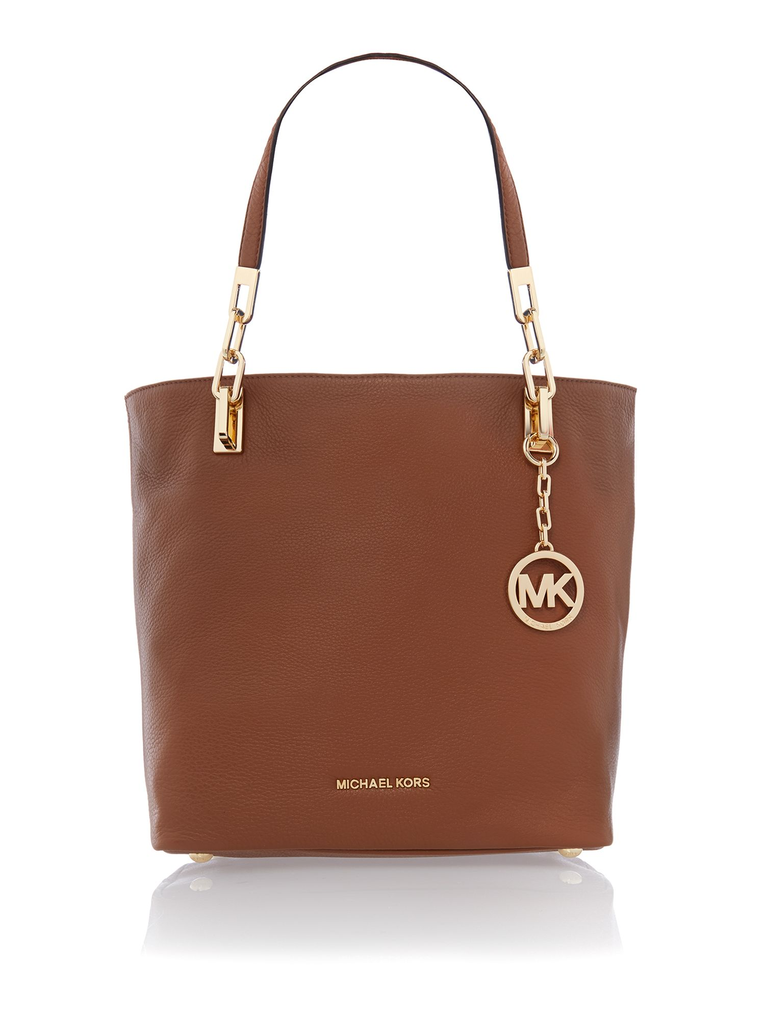 Brooke tan tote bag