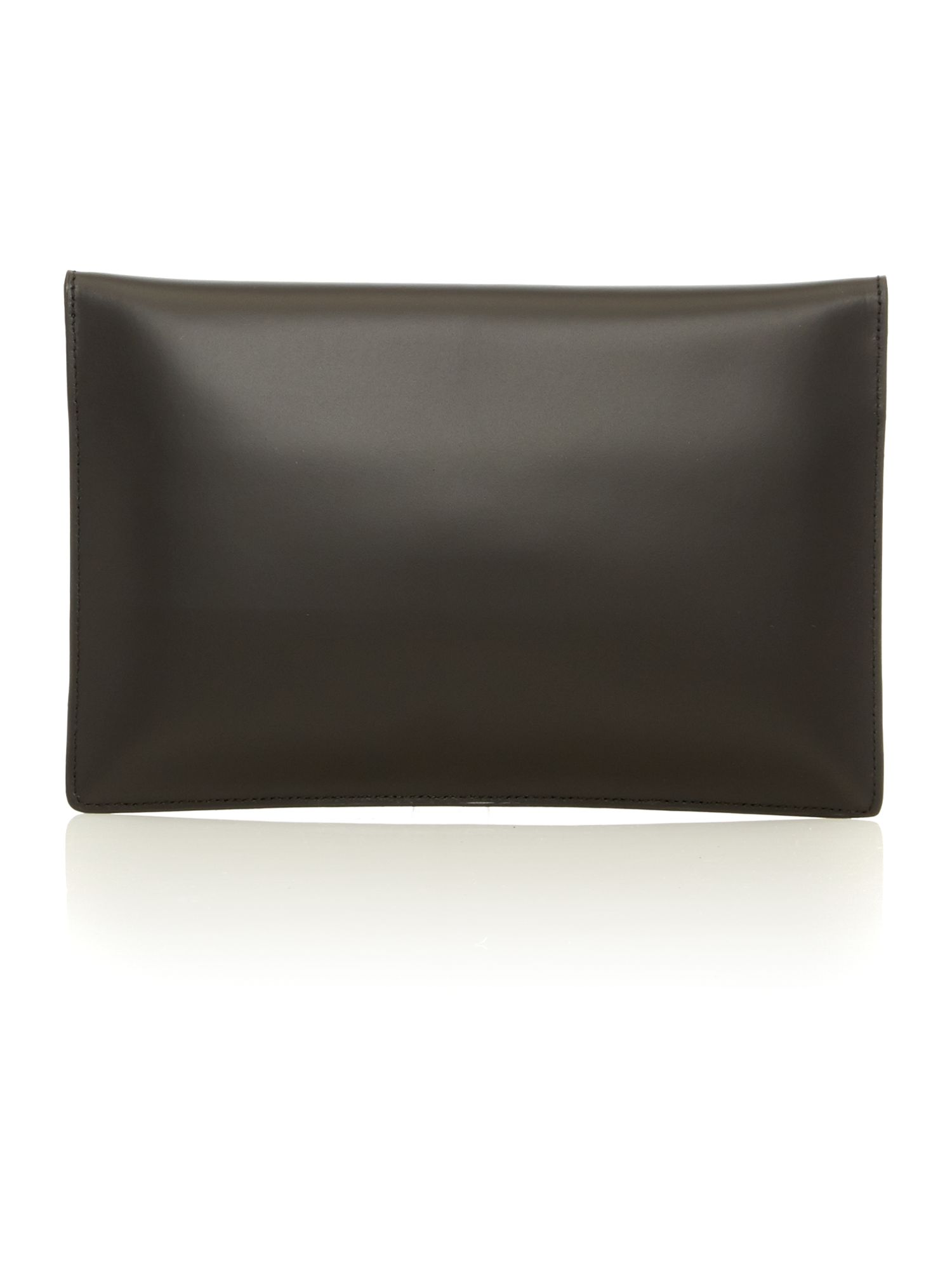 Private black clutch