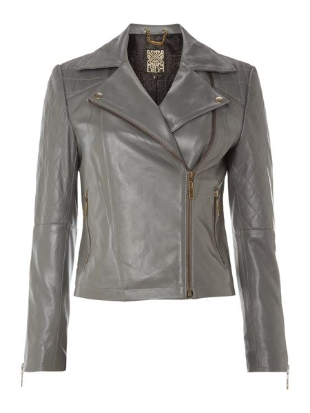 Biba Leather biker jacket