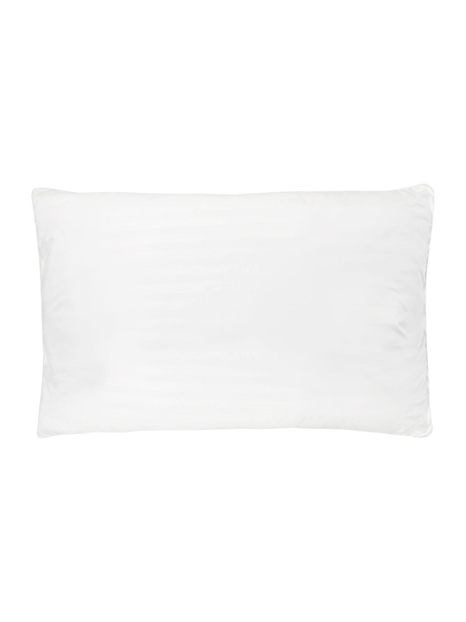 Luxury microfibre pack of four medium pillows