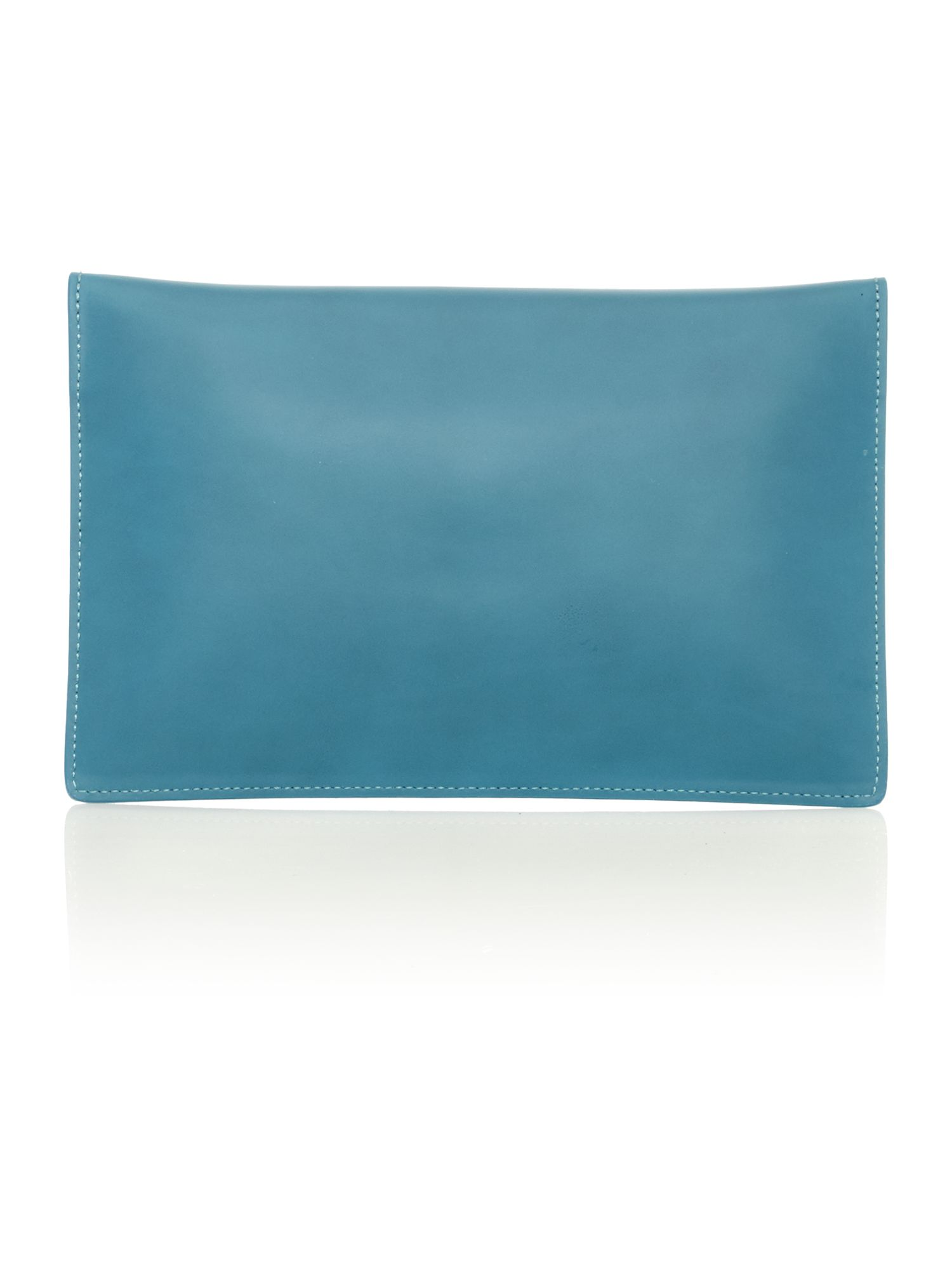 Private blue clutch