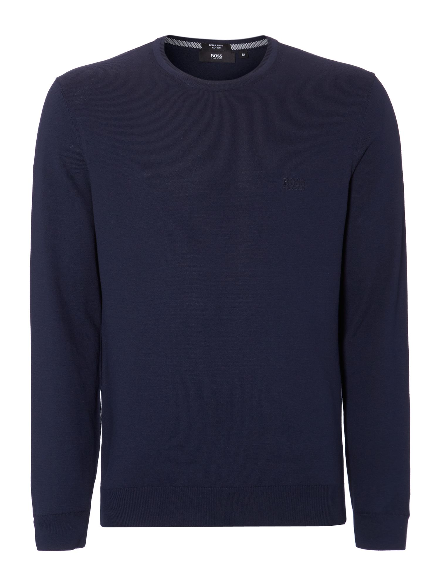 Crew neck logo jumper