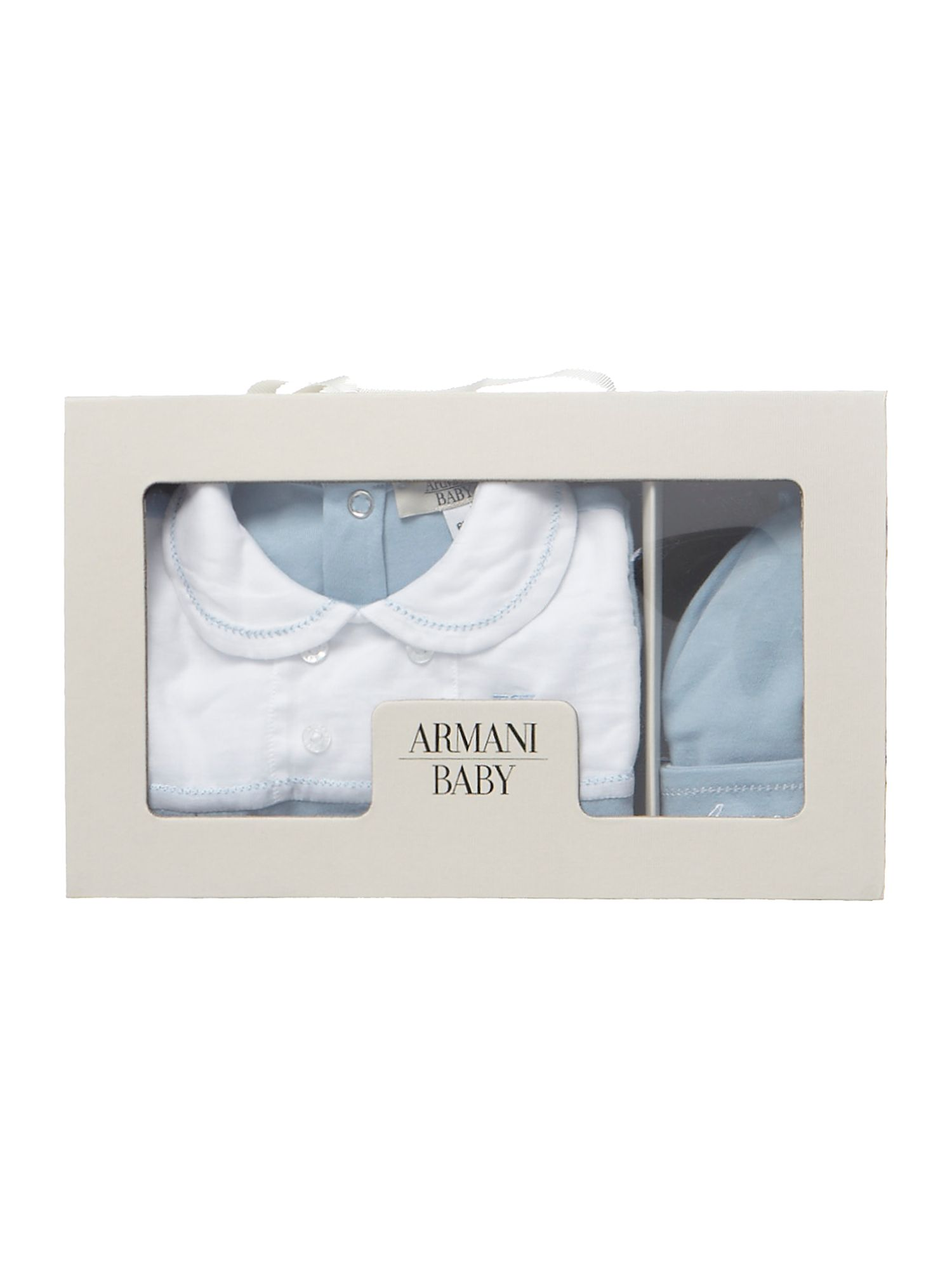 Babys babygrow and hat gift set