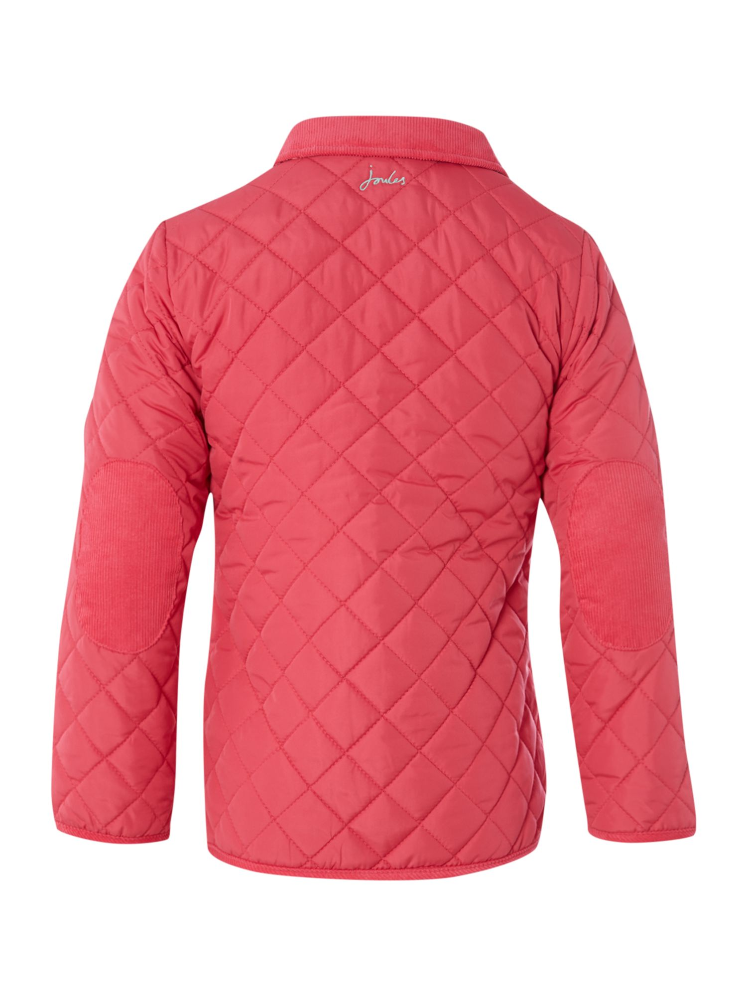 Girl`s quilted barn jacket