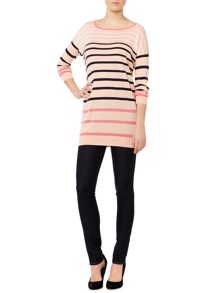 Marella Umbria striped long sleeved jumper