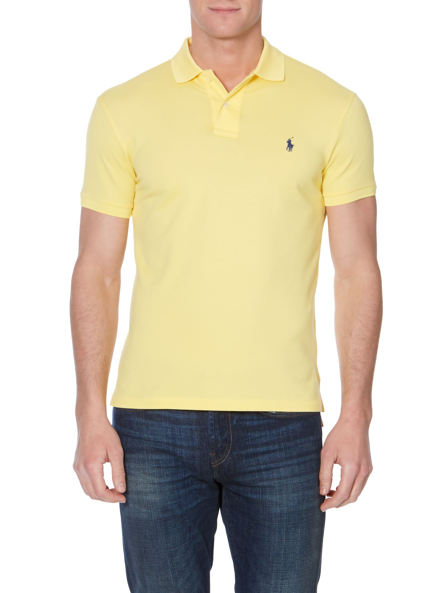 Classic stretch fit polo