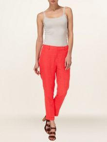 Zoya linen trousers