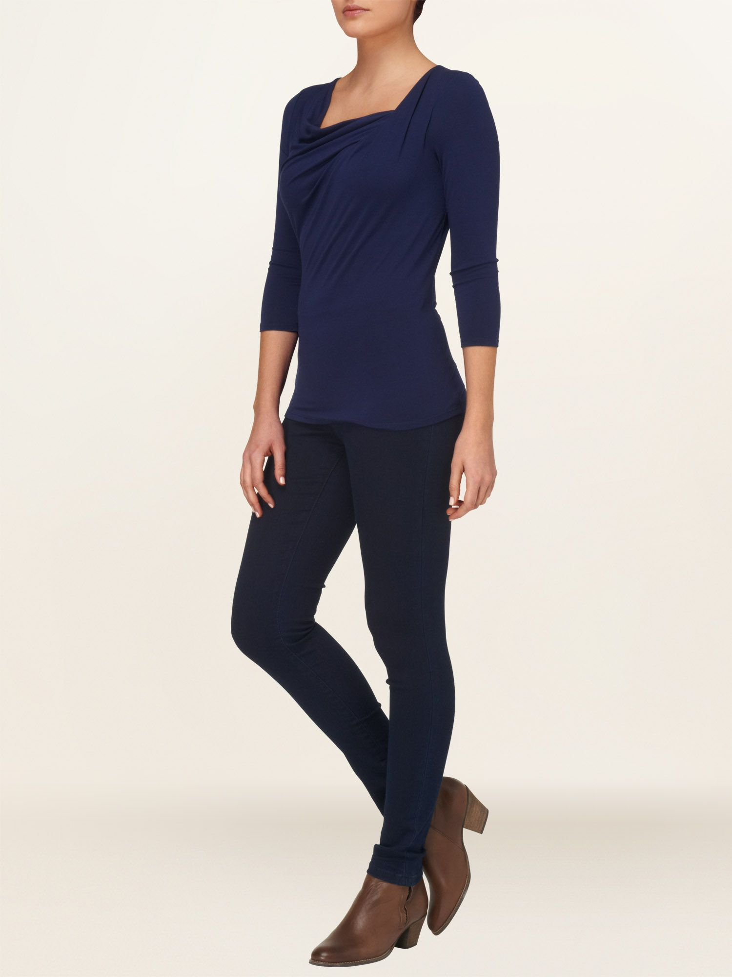Lara cowl neck top