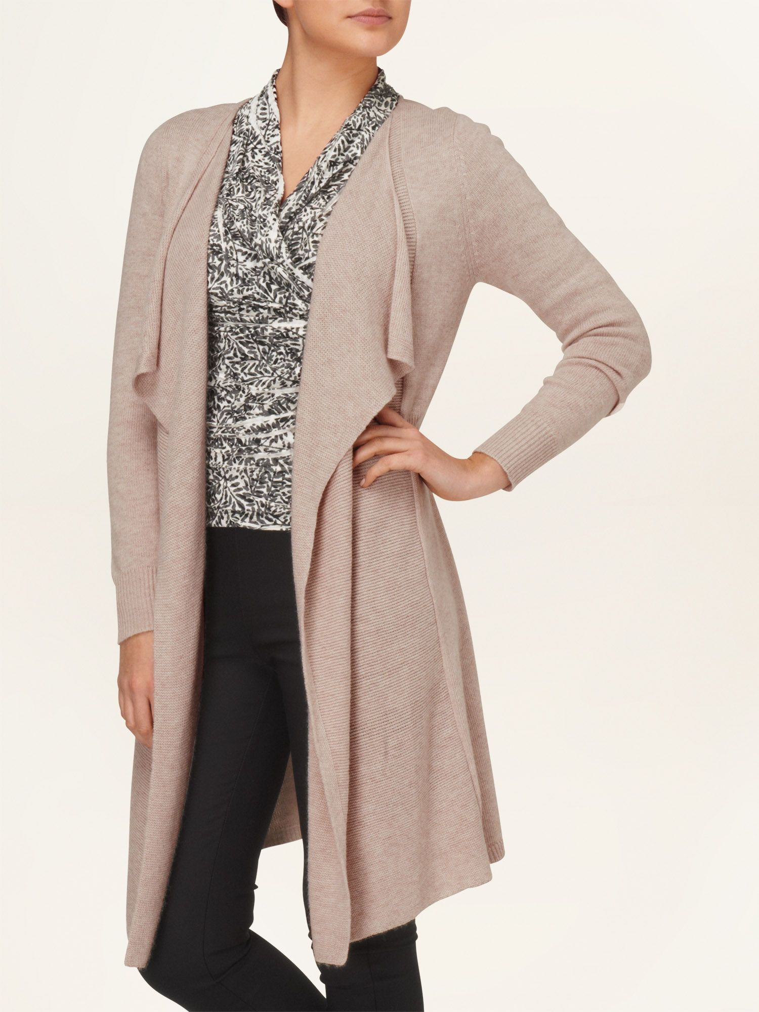 Wren waterfall cardigan