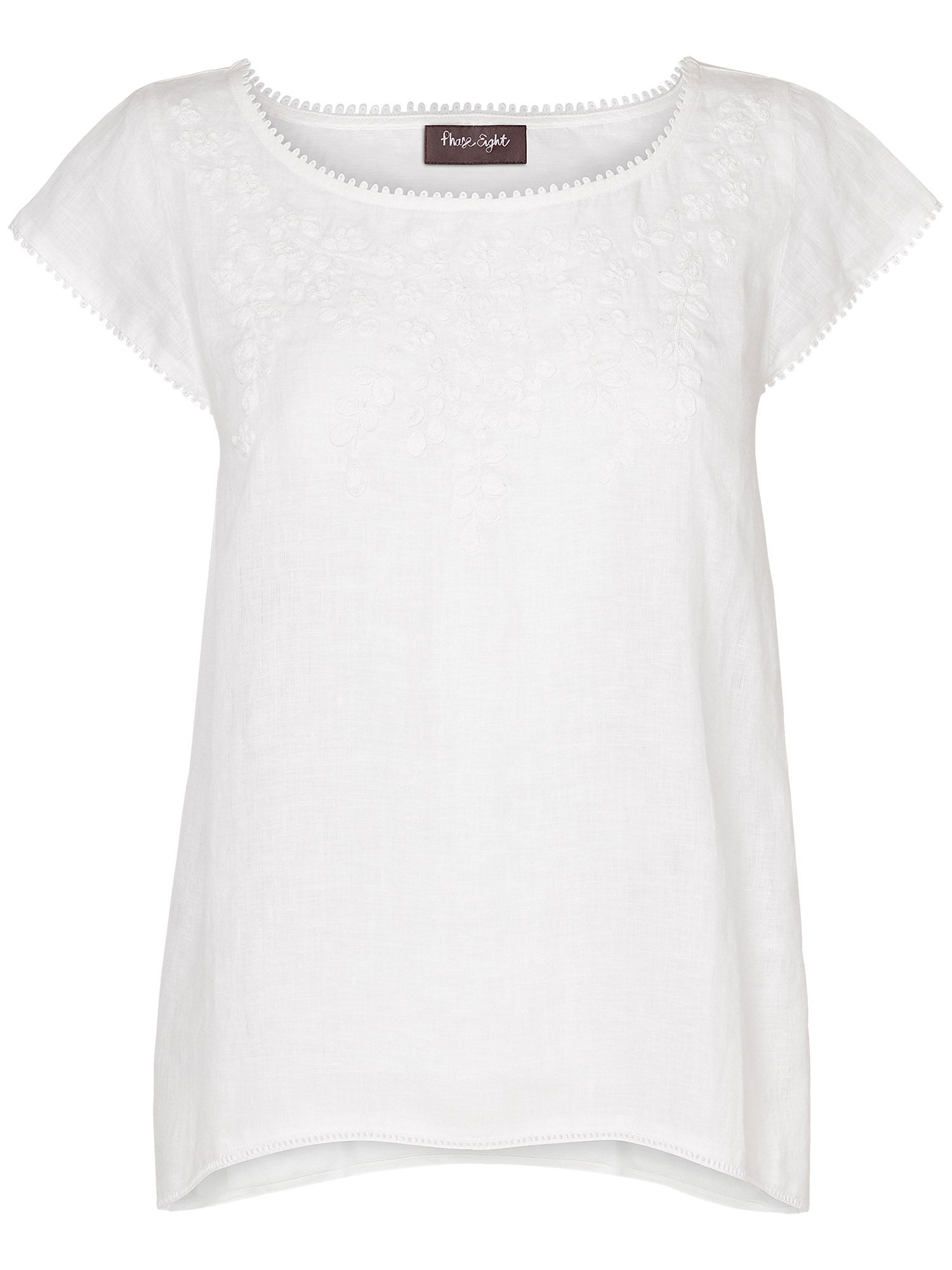 Annabelle embroidered top