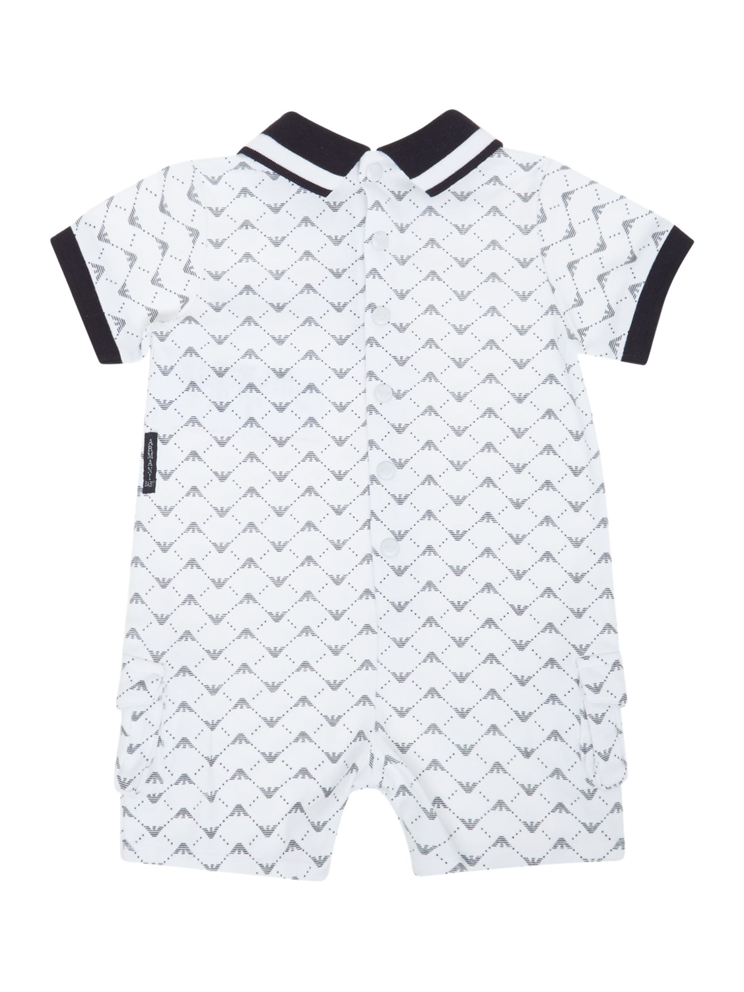Baby`s all over logo romper