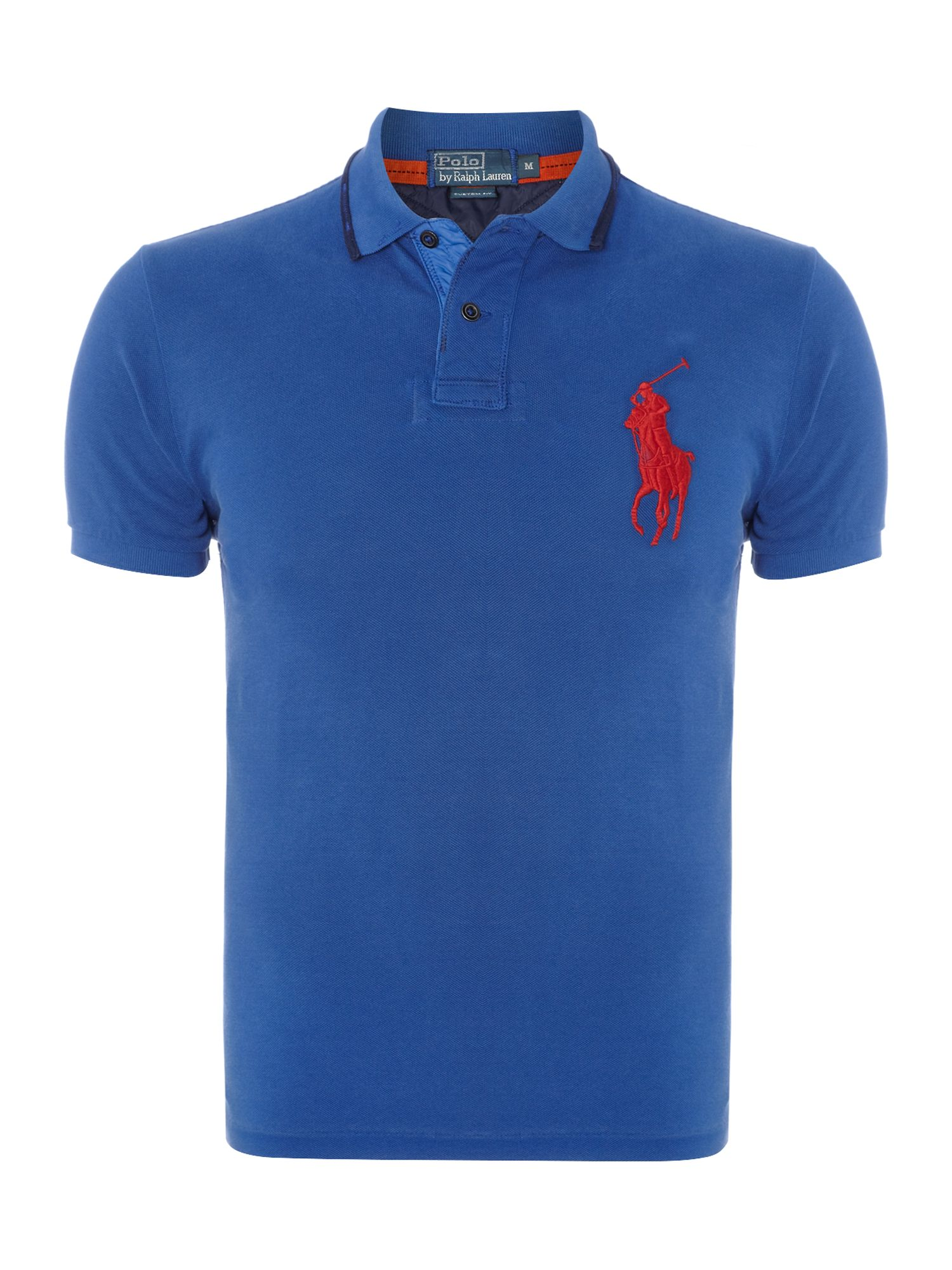 Big pony rugged custom fit polo shirt