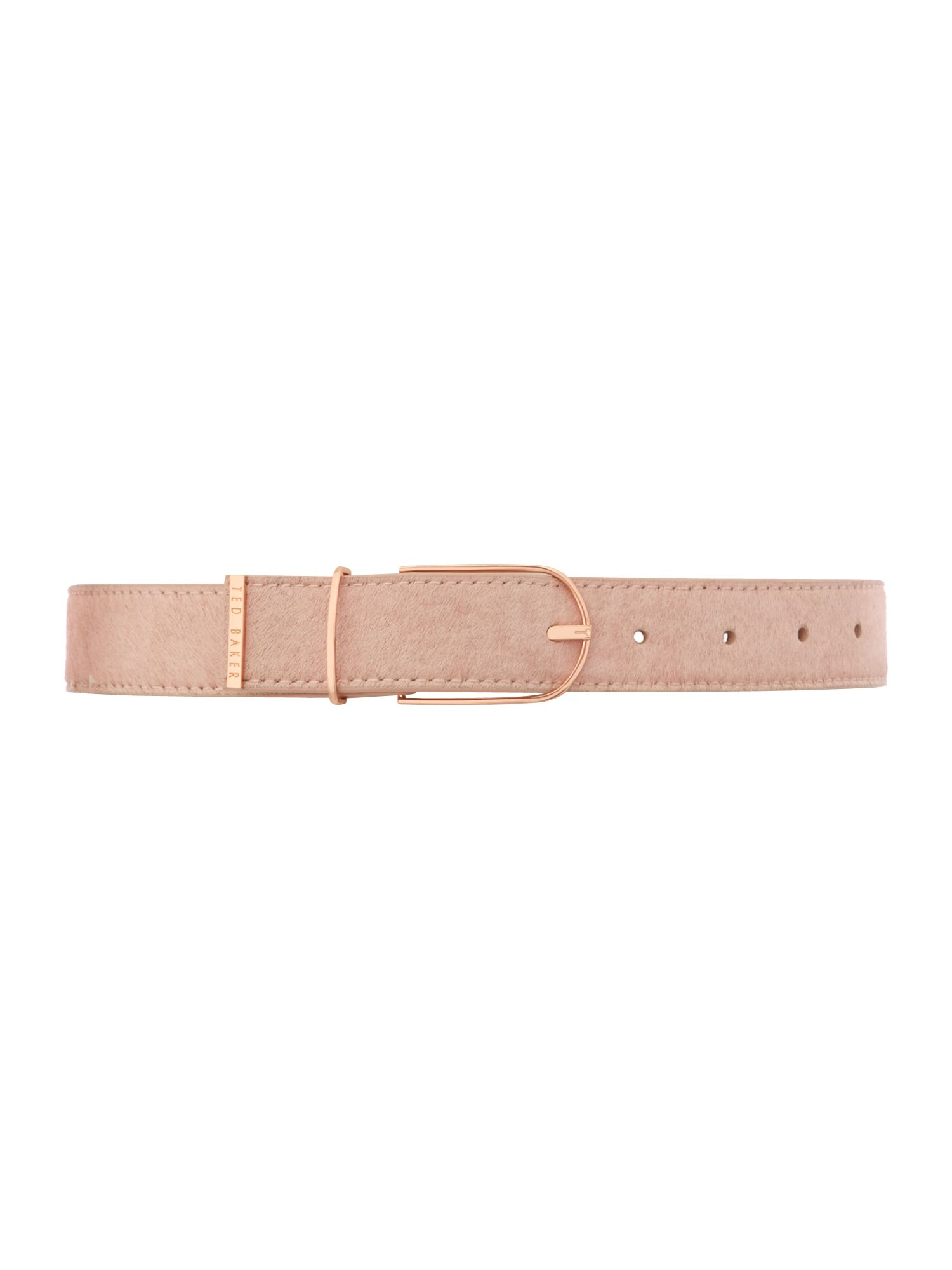 Medium neutral pony belt