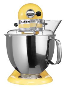 Artisan 4.8L Stand Mixer, Majestic Yellow