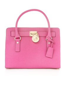 Hamilton pink shoulder strap bag