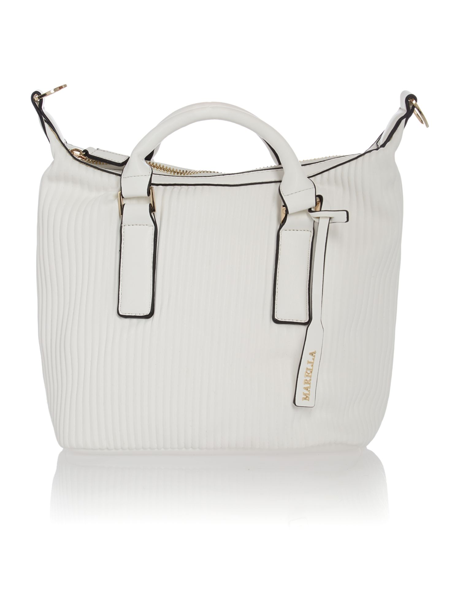 White segreto tote bag