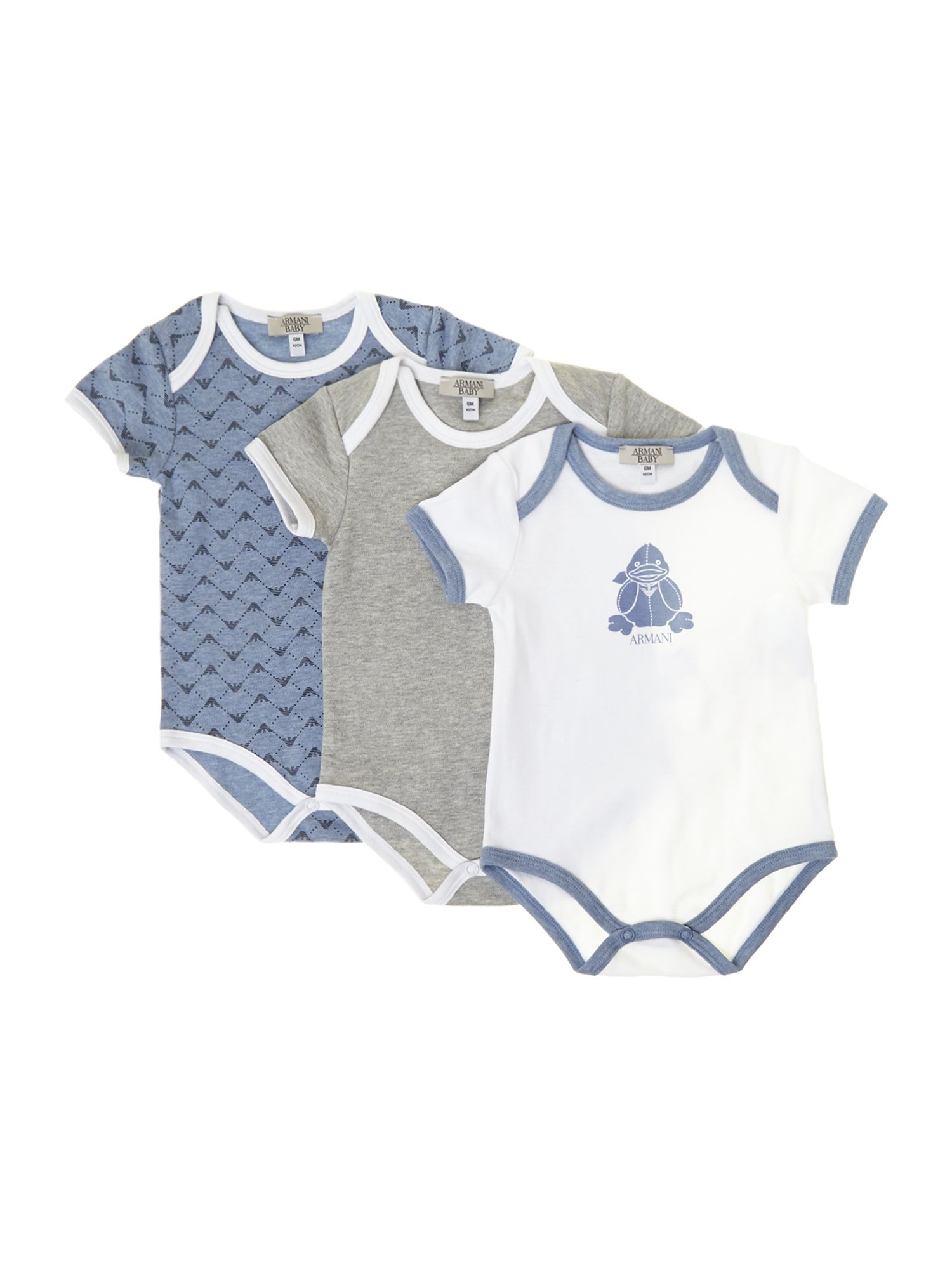 Baby`s 3 pack bodysuit gift box
