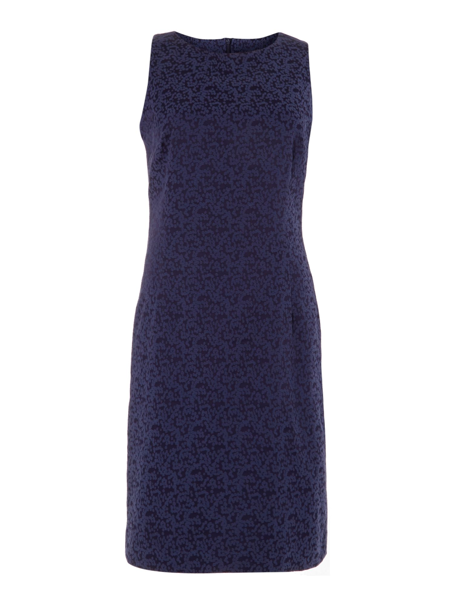 Connie spot jacquard shift dress