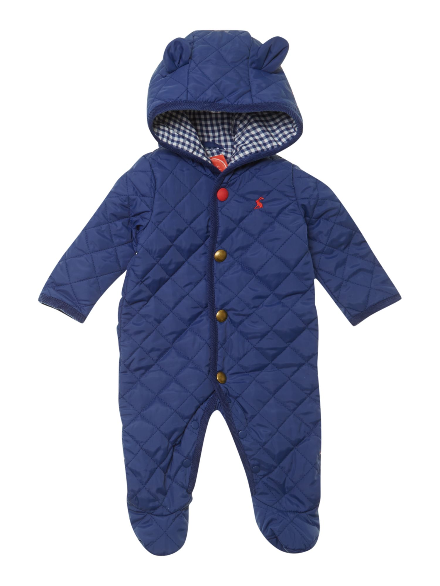 Boy`s quilted snowsuit