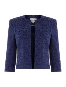 Connie spot jacquard jacket